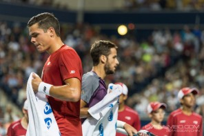 Raonic gets eliminated by Lopez at Rogers Cup
