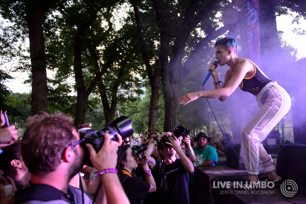 Halsey at Lollapalooza 2015