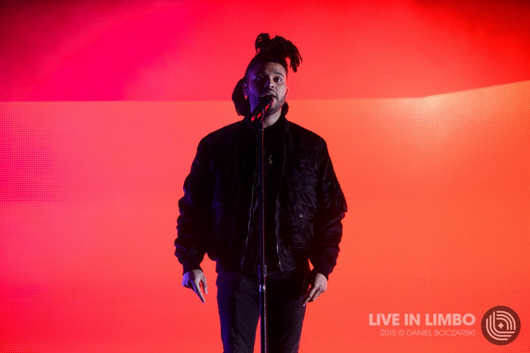The Weeknd at Lollapalooza 2015