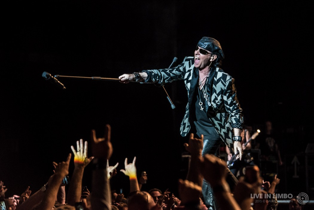 The Scorpions at the Molson Canadian Amphitheatre