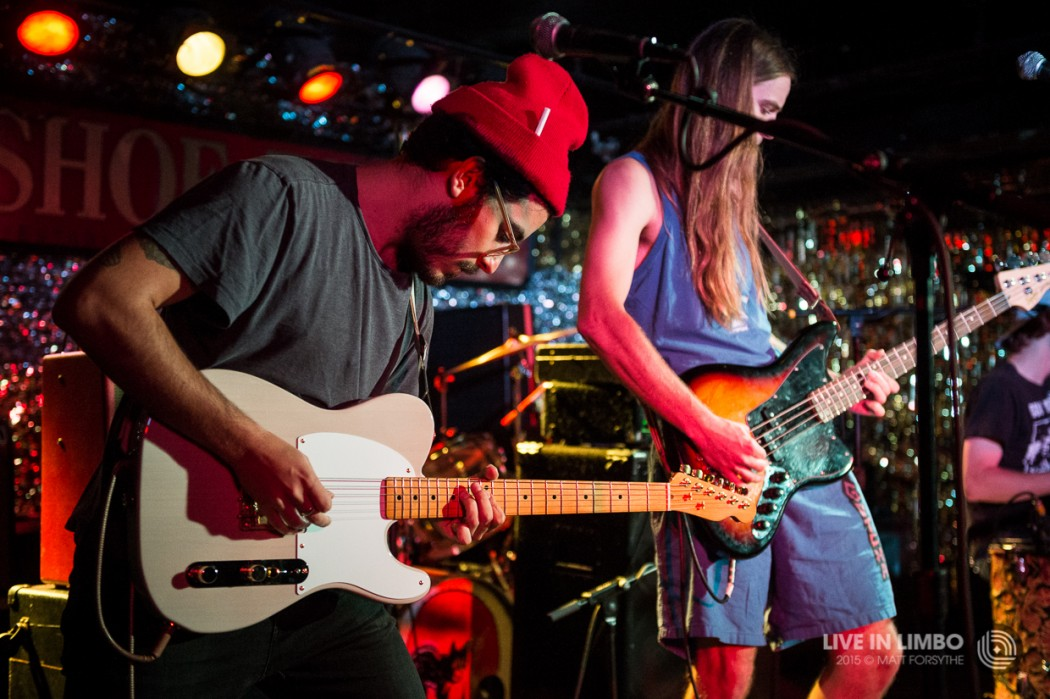 Diarrhea planet with music band at the horseshoe tavern for House music bands
