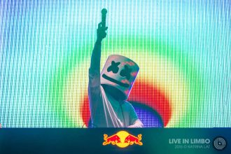 Marshmello at Mad Decent Block Party