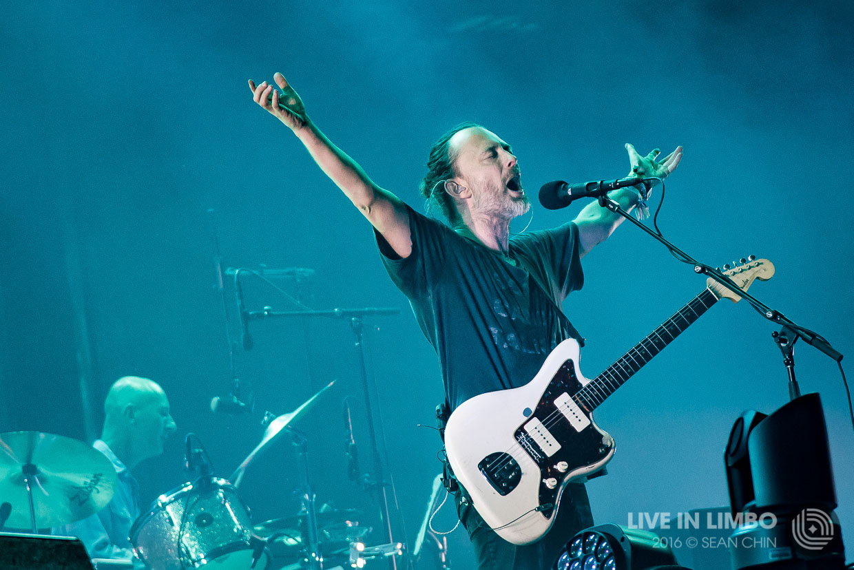 Radiohead at Osheaga 2016