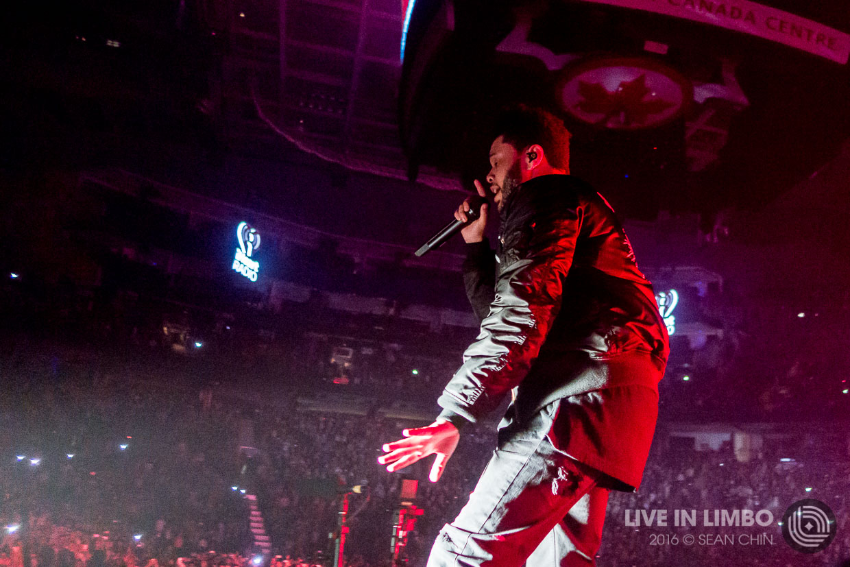 The Weeknd at Jingle Ball 2016