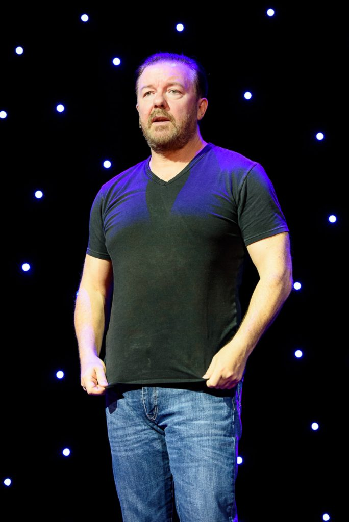 Ricky Gervais at Massey Hall