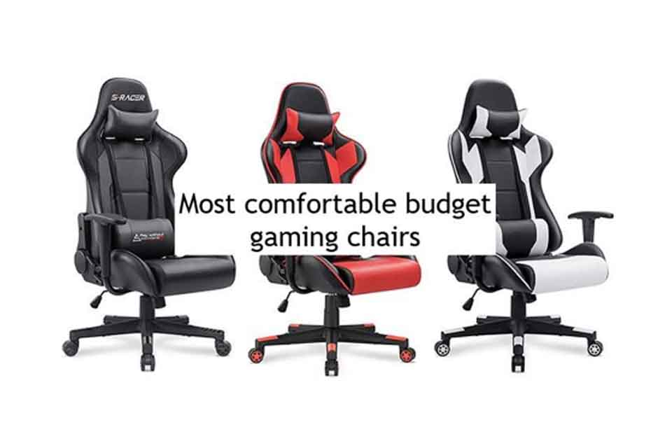 Swell Five Most Comfortable Pc Gaming Chairs To Buy On A Budget Tech Lamtechconsult Wood Chair Design Ideas Lamtechconsultcom