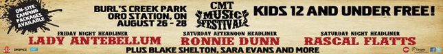 Contest: CMT Canada Music Festival Giveaway
