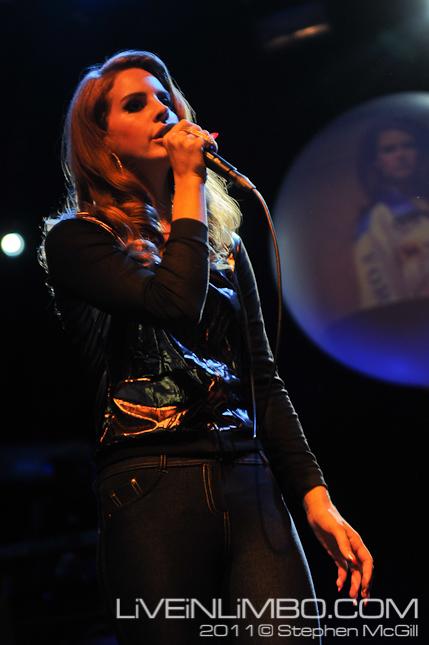 Lana Del Ray at The Mod Club Toronto Concert photos