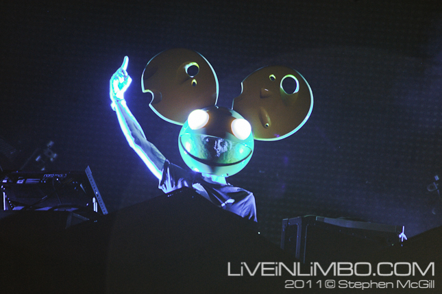 deadmau5 toronto concert photos