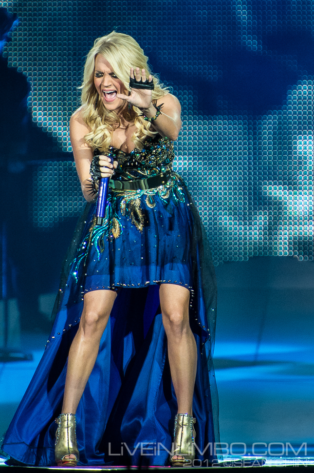 Carrie Underwood Air Canada Centre Toronto