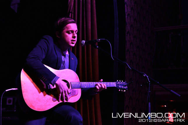 Teitur at The Great Hall – 03/06/12