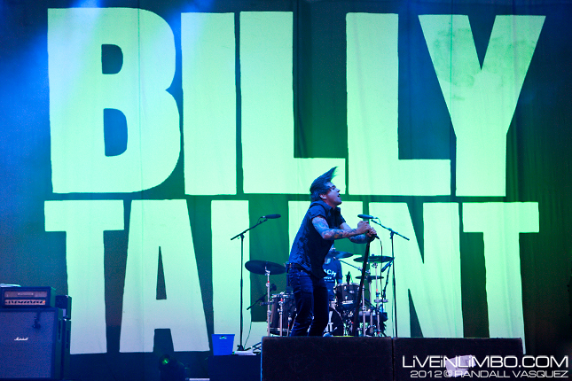 Billy Talent @ Edgefest 2012