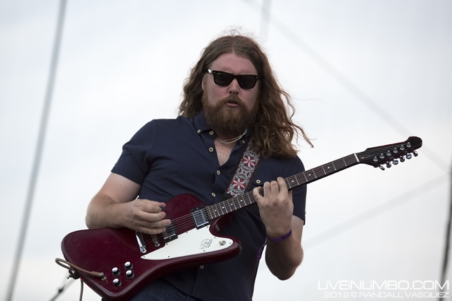 The Sheepdogs @ Edgefest 2012