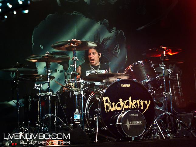 Buckcherry at London Music Theatre