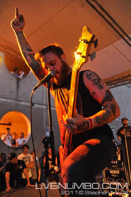 cancer bats concert photos toronto
