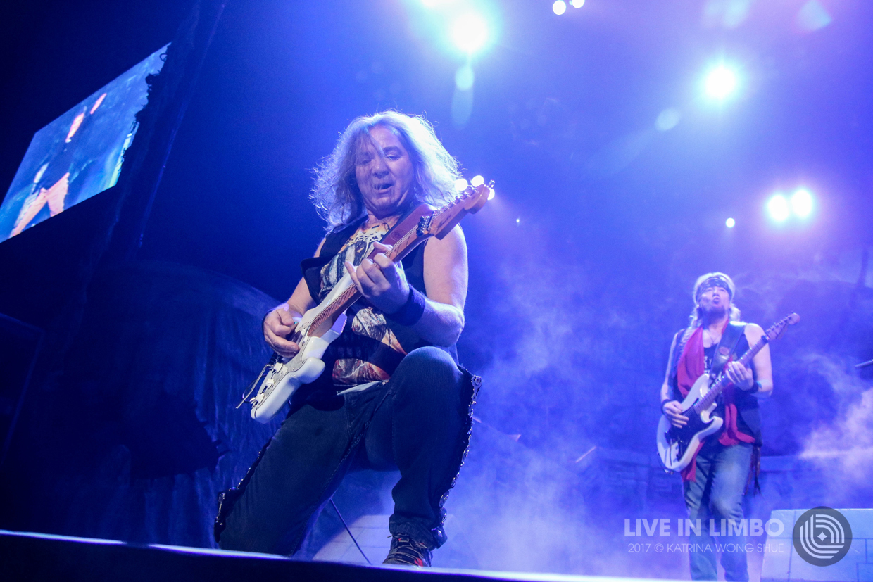 Iron Maiden At The Prudential Center In Newark Nj