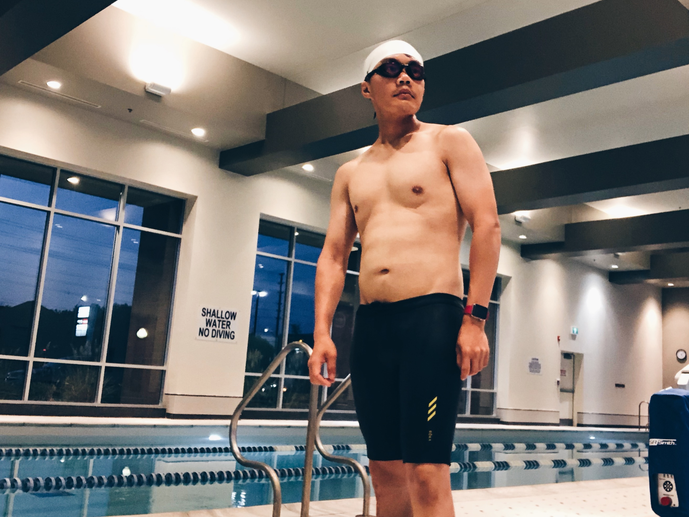 53a7f17637 If you've been following me along, you've seen that I've been running, and  now I'm getting back into swimming.